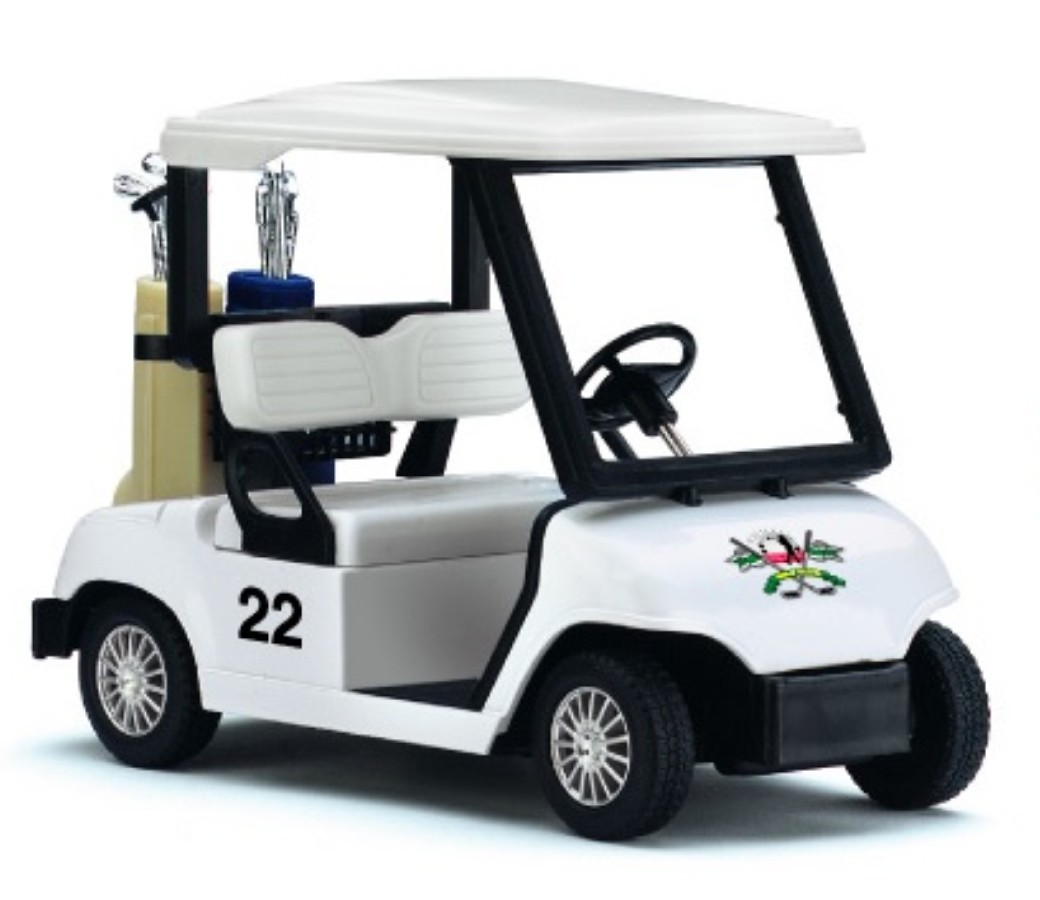 "5"" Golf Cart (White Colors) KS5105D"