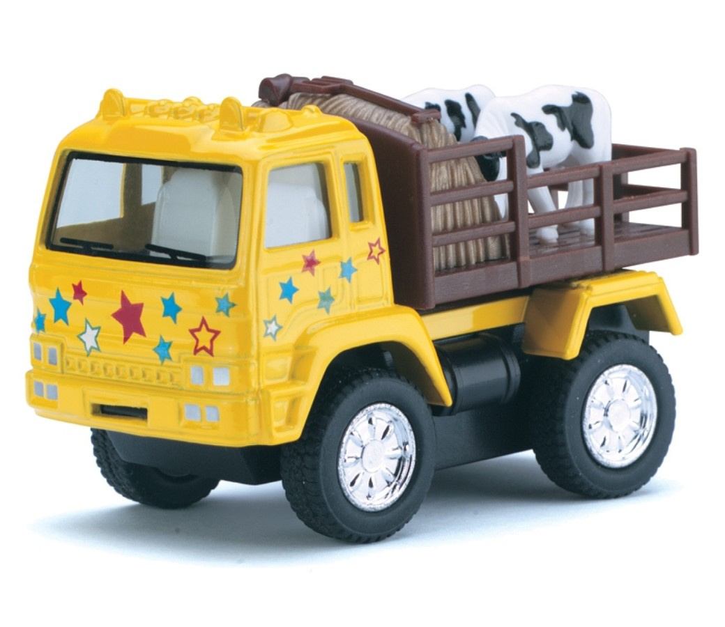 "3.25"" Farm Truck (4 Asstd Colors) KT3755D"
